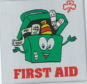 First Aid Medical Box Badge